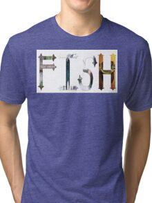Dymond Speers Fish  Tri-blend T-Shirt