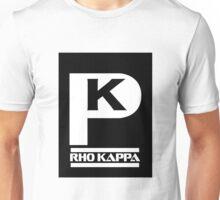 Rho Kappa Shirt Logo 1 Unisex T-Shirt