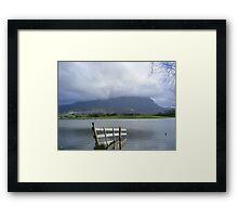 Mt Roland, from Paradise, Tasmania Framed Print