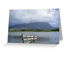 Mt Roland, from Paradise, Tasmania Greeting Card