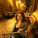 In Rome at Night by Magda Vacariu
