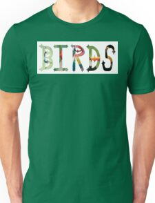 Dymond Speers Birds Unisex T-Shirt