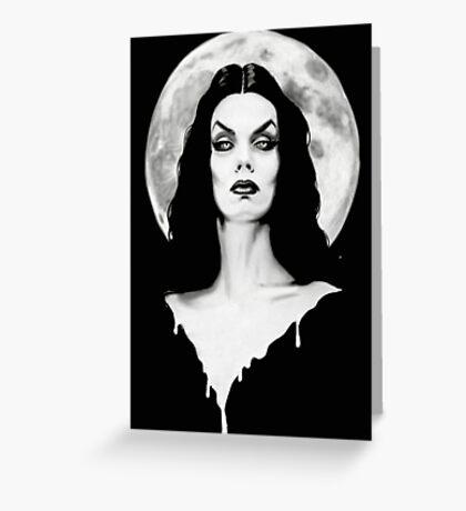 Vampira Greeting Card