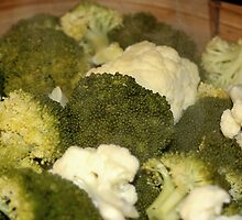 Broccolli & Cauliflower Anyone? by Cheri Perry