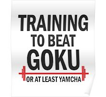 Training To Beat Go Ku Poster