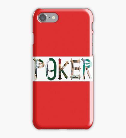 Dymond Speers POKER iPhone Case/Skin