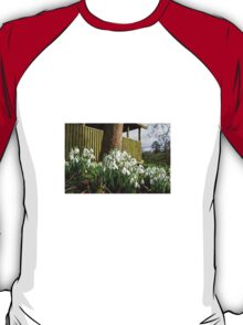 Snowdrops In Somerset T-Shirt