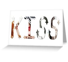 Dymond Speers KISS Greeting Card