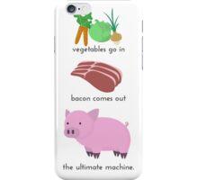 Pigs. The Ultimate Machine. iPhone Case/Skin