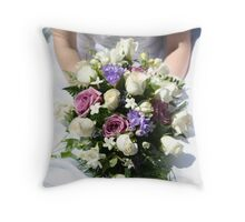 Bride's Bouquet Throw Pillow