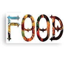 Dymond Speers FOOD Canvas Print