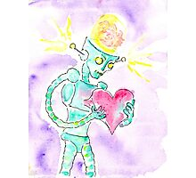 Brain Forces the Love Back Inside. Photographic Print