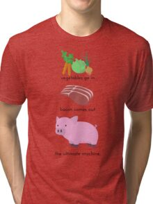 Pigs. The Ultimate Machine. Tri-blend T-Shirt