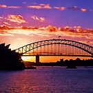 Sydney Sunset by emmyjewel