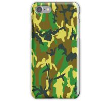 Camouflage iPhone / Samsung Galaxy Case iPhone Case/Skin