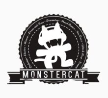 MONSTERCAT Label Seal by Ly-uu