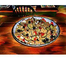 Bow Tie Pasta & Beans Photographic Print