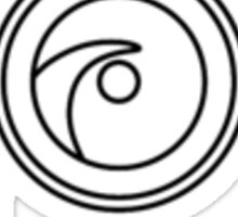 Remote Logo Frame Sticker