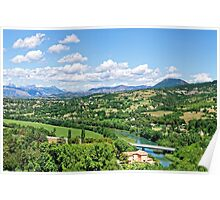 Rural Alpes-de-Haute-Provence in the Summer Poster