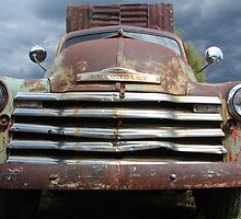 Vintage Chevy by Ronee van Deemter
