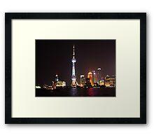 Oriental Pearl Framed Print
