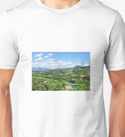 Rural Alpes-de-Haute-Provence in the Summer Unisex T-Shirt