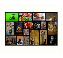 Banksy & Friends Art Print