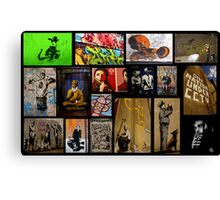 Banksy & Friends Canvas Print