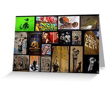 Banksy & Friends Greeting Card