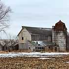 Old Farm In Walworth County by EBArt
