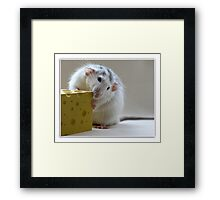 I've been on a diet for 2 weeks and all I've lost is 2 weeks. Framed Print