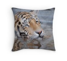 Love My Water Bowl! Throw Pillow