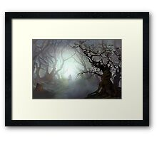 Blair Witch Woods Framed Print