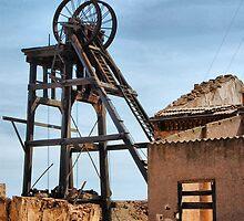 ABANDONED MINES, LA UNION, COSTA CALIDA, SPAIN by Squealia