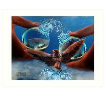 Eco-balance Art Print