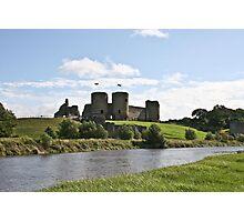 Rhuddlan Castle Photographic Print