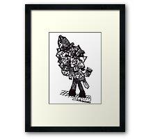 Cuppa Coffee Man Framed Print