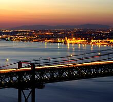 Bridge Over Tagus by ccaetano