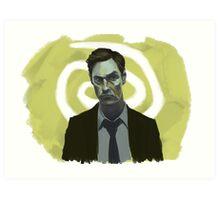 Rust Cohle - True Detective Art Print
