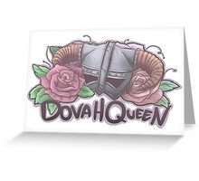DovahQueen Greeting Card
