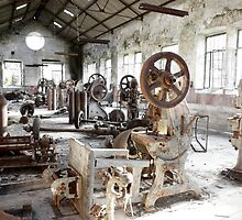 Rusty Machinery by ccaetano