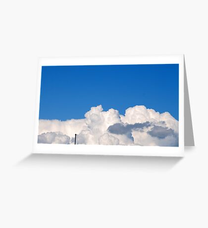 Above Us Only Sky... Greeting Card
