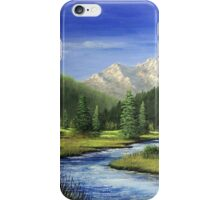 Middle Fork - Payette River iPhone Case/Skin