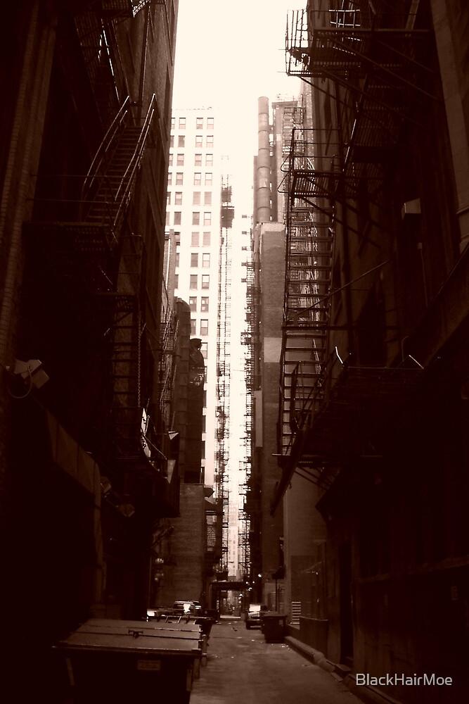 Big City Alley by BlackHairMoe