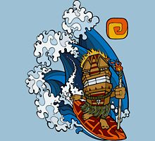 Tiki Surfer Unisex T-Shirt
