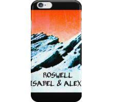 roswell tv show Orange sky Isabel & Alex iPhone Case/Skin