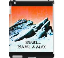 roswell tv show Orange sky Isabel & Alex iPad Case/Skin