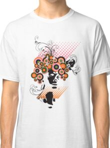 Funky Dollie Bloom Hair Classic T-Shirt
