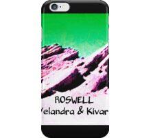 roswell tv show Green sky Velandra & Kivar iPhone Case/Skin