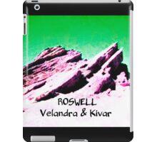 roswell tv show Green sky Velandra & Kivar iPad Case/Skin